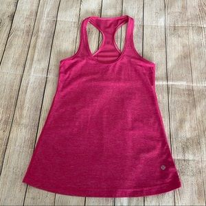 LULULEMON Raspberry Pink Racer Back Tank Top